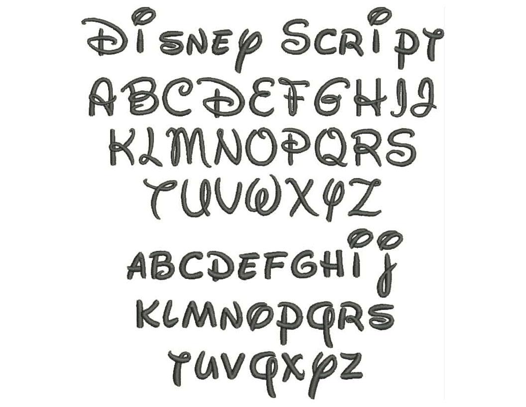 Disney Script Font Free