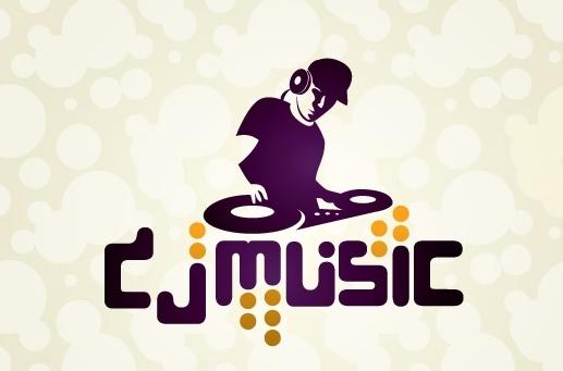 13 DJ Logo Design PSD Images