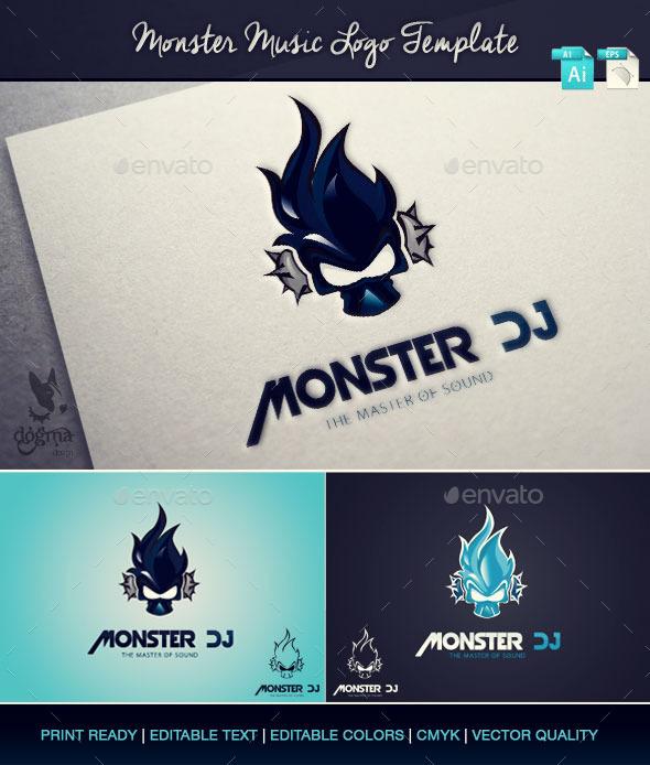 DJ Logos Templates