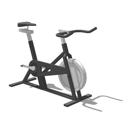 Exercise Bike 3D Model Download