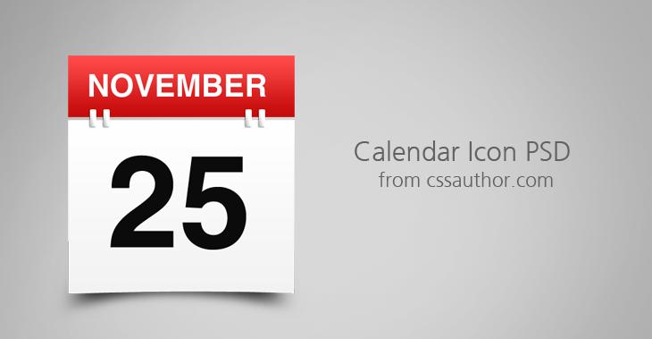 Free Calendar Icons Download