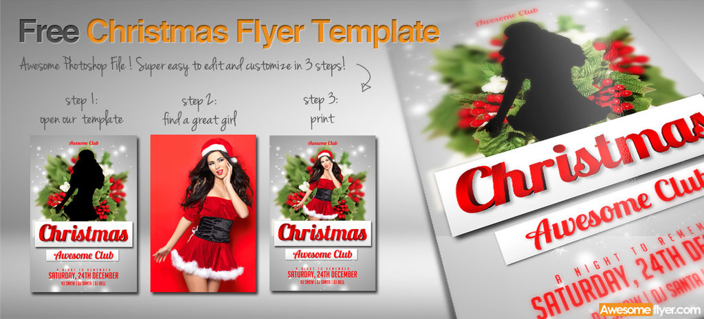 Free Christmas Flyer Design Templates