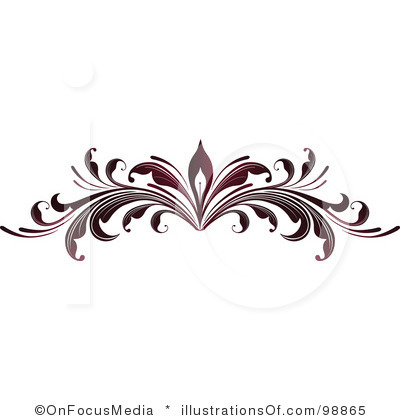 Free Clip Art Scrolls and Flourishes