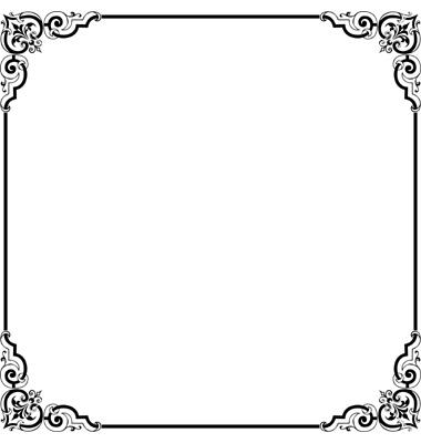 Free Elegant Page Borders