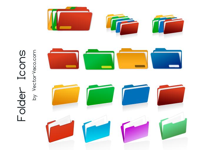 free clipart folder icon - photo #16