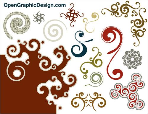 Free Graphic Decorative Swirl Vector