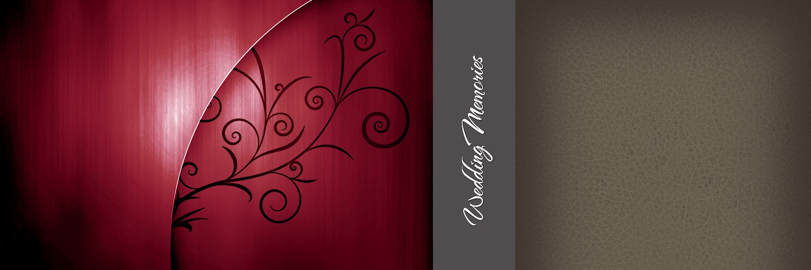 8 Photoshop PSD Files For Wedding Albums Images