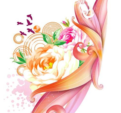 Free Pink Rose Graphic Design