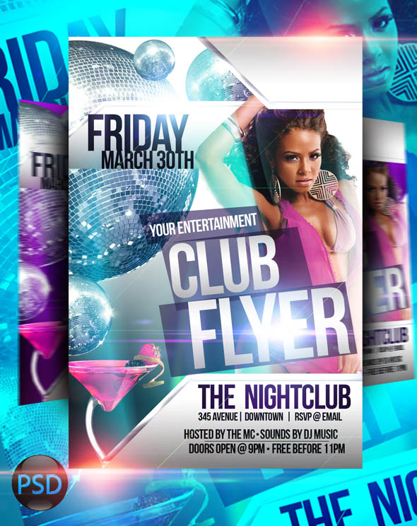 free nightclub flyer design templates - 19 strip club flyer psd templates images free club flyer