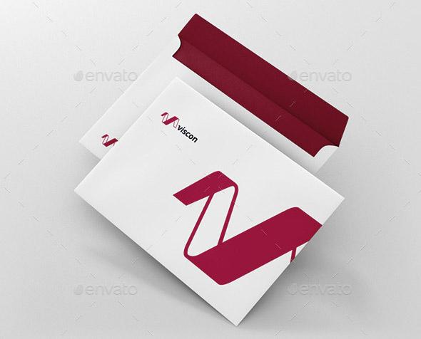 Free Psd Mock Up Envelope