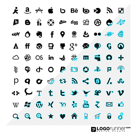 12 100 Social Media Icons Images