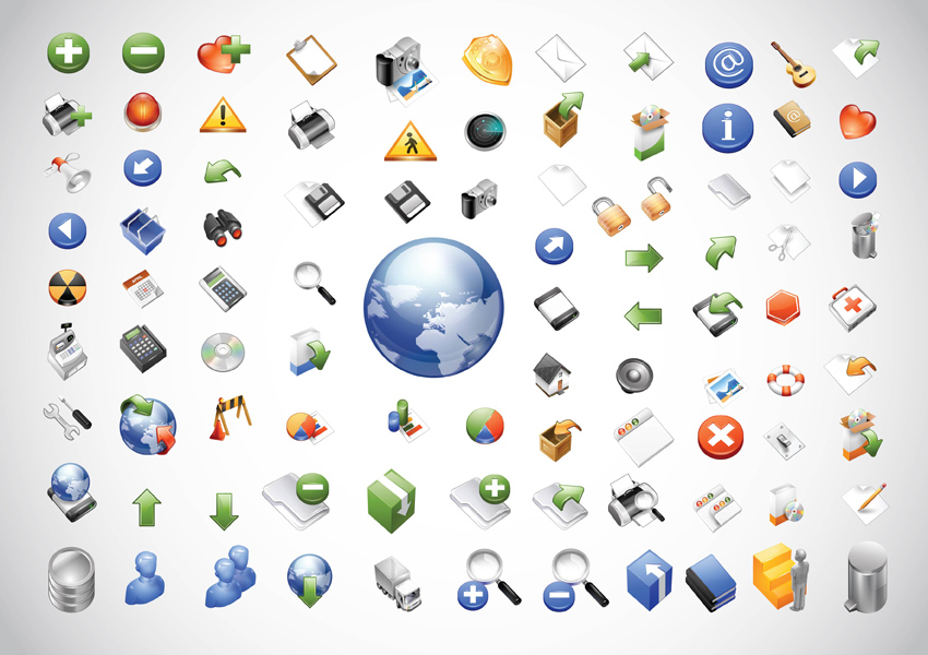 14 Vector Web Icons Images