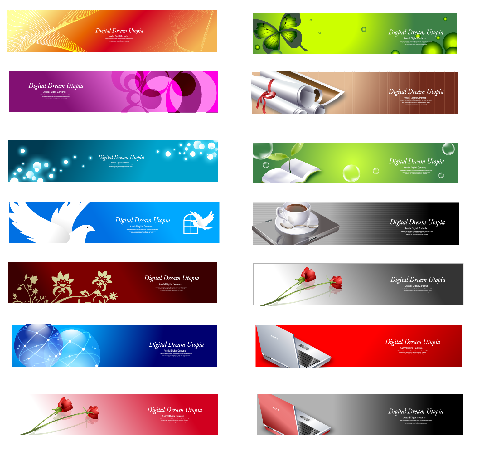 13 Website Banner Psd Images Free Web Banner Design Templates Free Web Psds Banner And Website Banner Templates Newdesignfile Com