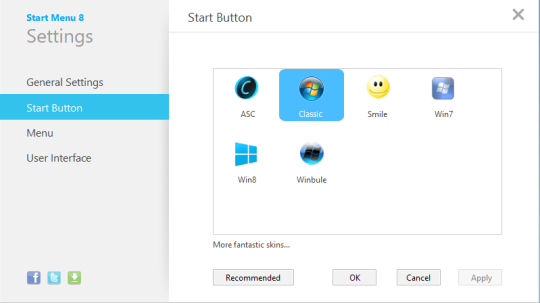 Free Windows 8 Start Button
