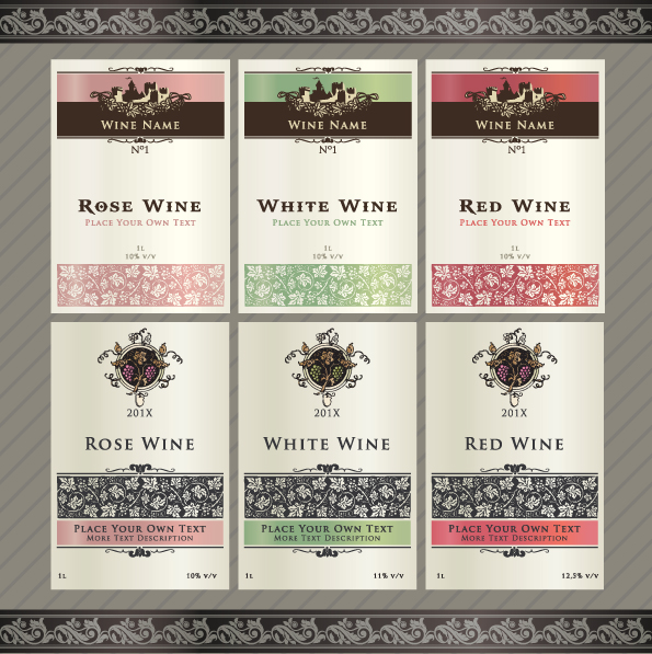 13 Free Wine Label Design Template Images Free Printable Label – Free Wine Label Design