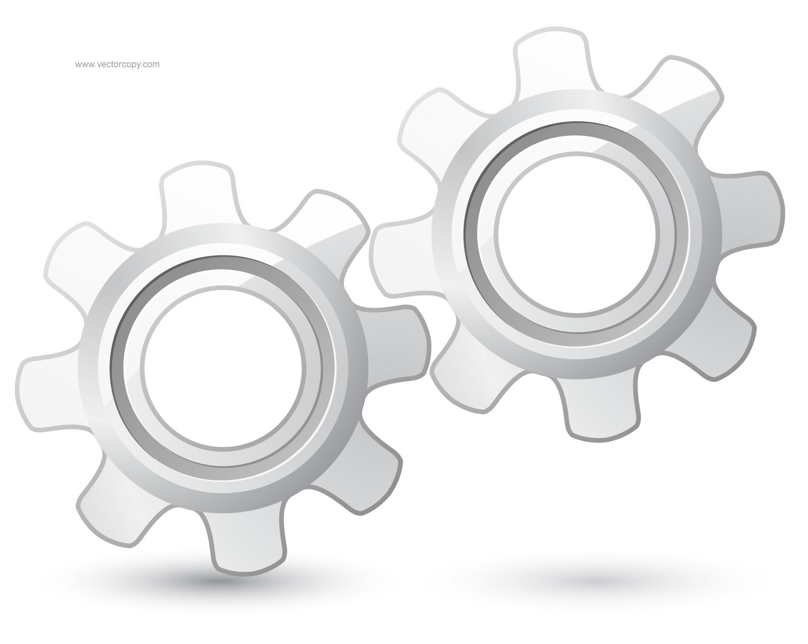 Gear Icon Vector Free