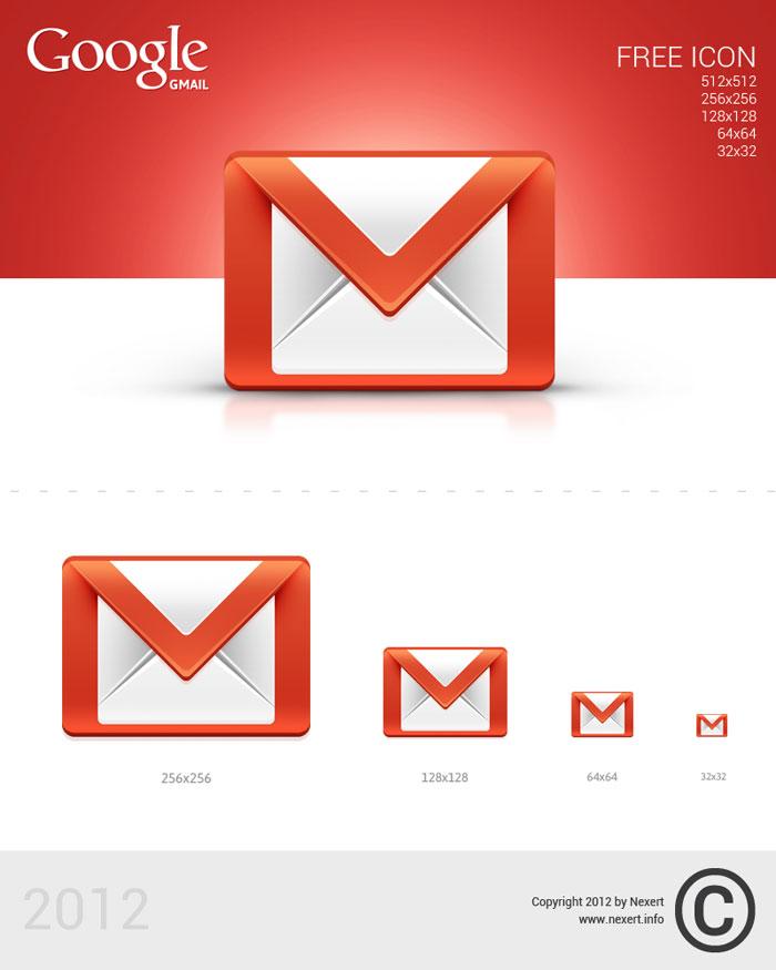 Gmail Icon On Desktop