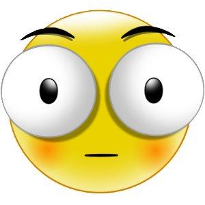 15 Big Eyes Emoticon On Facebook Images - Emoticon with ...