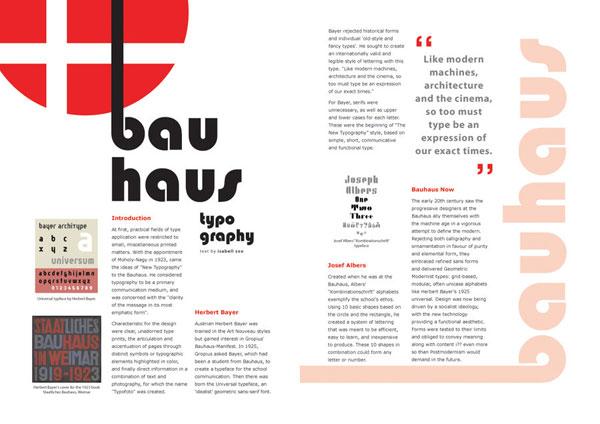 Graphic Design Magazine Layout
