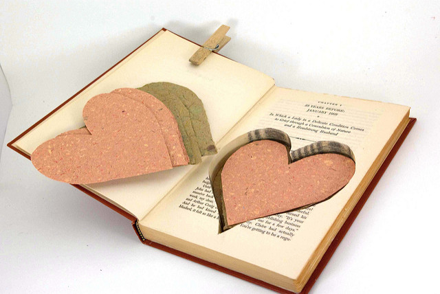 Heart Cut Out Book