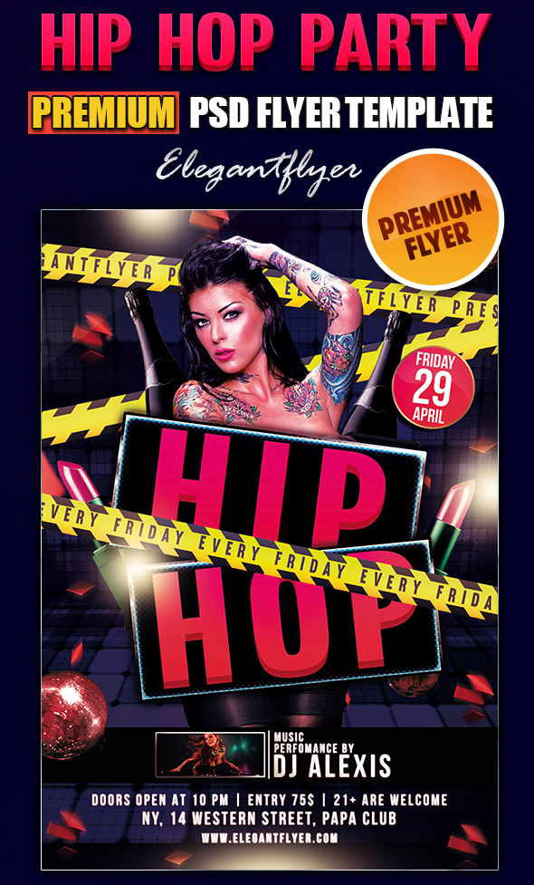 19 Strip Club Flyer Psd Templates Images Free Club Flyer Templates