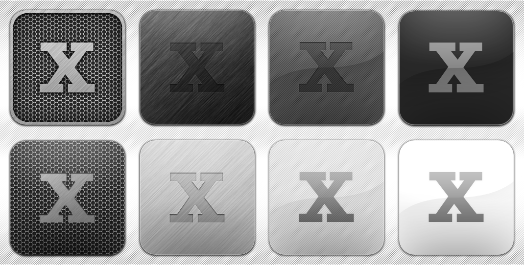 Icon Templates for Photoshop