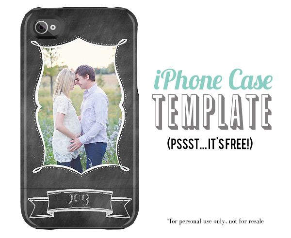 iPhone Case Template Free
