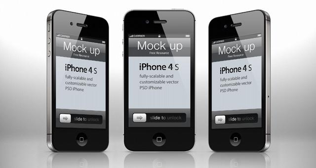 iPhone Mockup Template