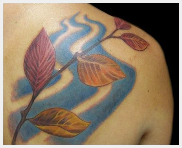 Leaves Tattoo Designs