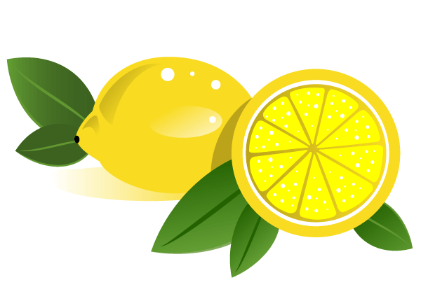 15 Vector Lemon Leaves Images