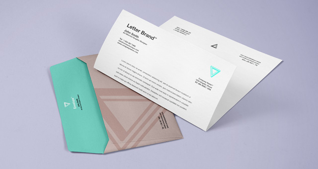 12 Envelope Mock Up Psd Free Images