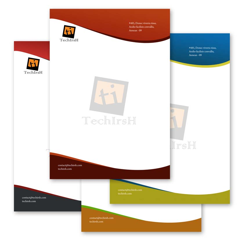 Letter Head Design Templates Free Download