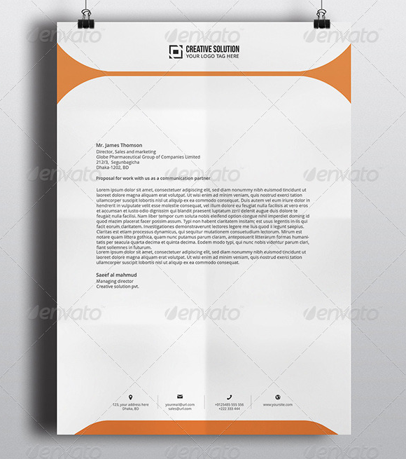 microsoft stationary template