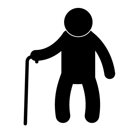 12 Old People Icons Images