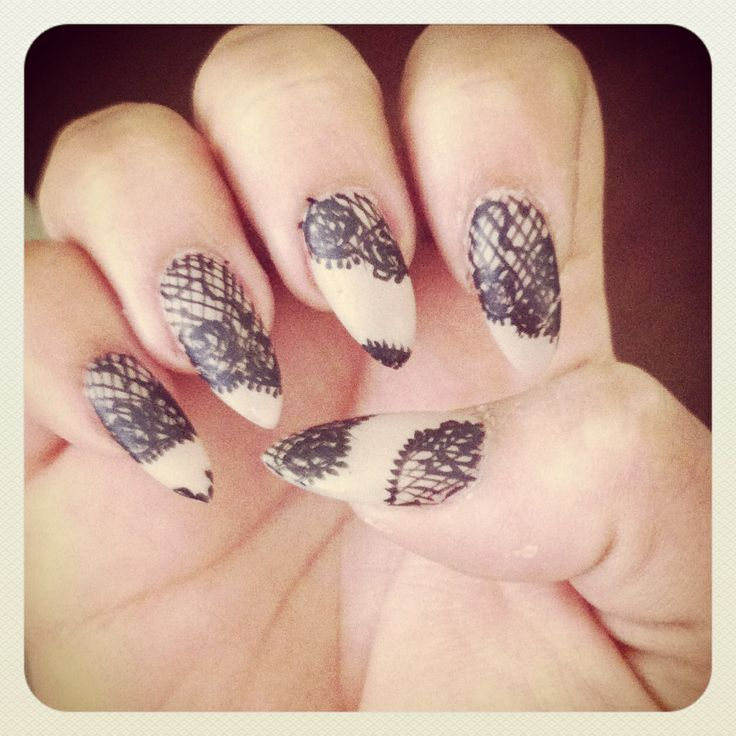 Pinterest Nail Lace Designs