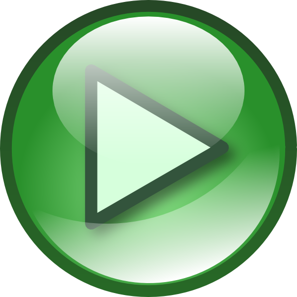 10 Green Play Icon Transparent Images
