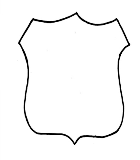 Police Officer Badge Template