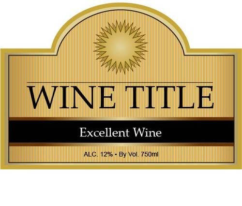 photo regarding Printable Wine Bottle Label known as 13 Totally free Wine Label Style Template Pics - Free of charge Printable