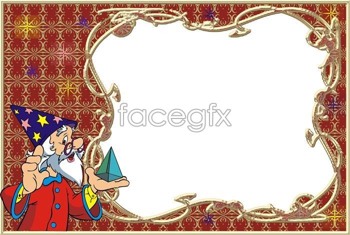 PSD Christmas Frames