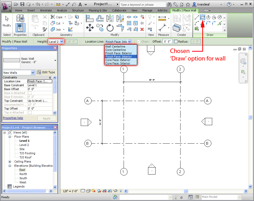 Revit View Control Bar