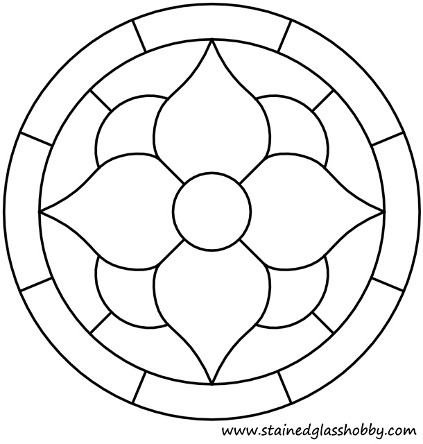 Round Stained Glass Patterns