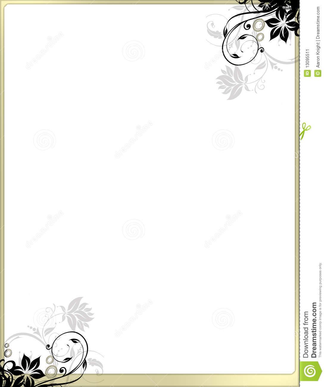 12 Elegant Page Border Designs Images - Elegant Page ...
