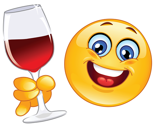 Smiley-Face Wine