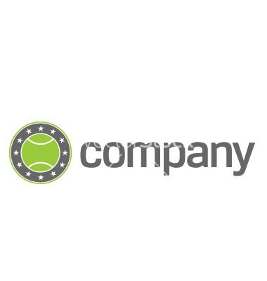 Tennis Sports Logo Vector