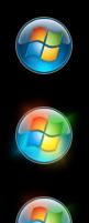 Transparent Start Orb Windows 7