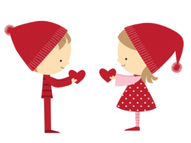 Valentine's Day Border Clip Art