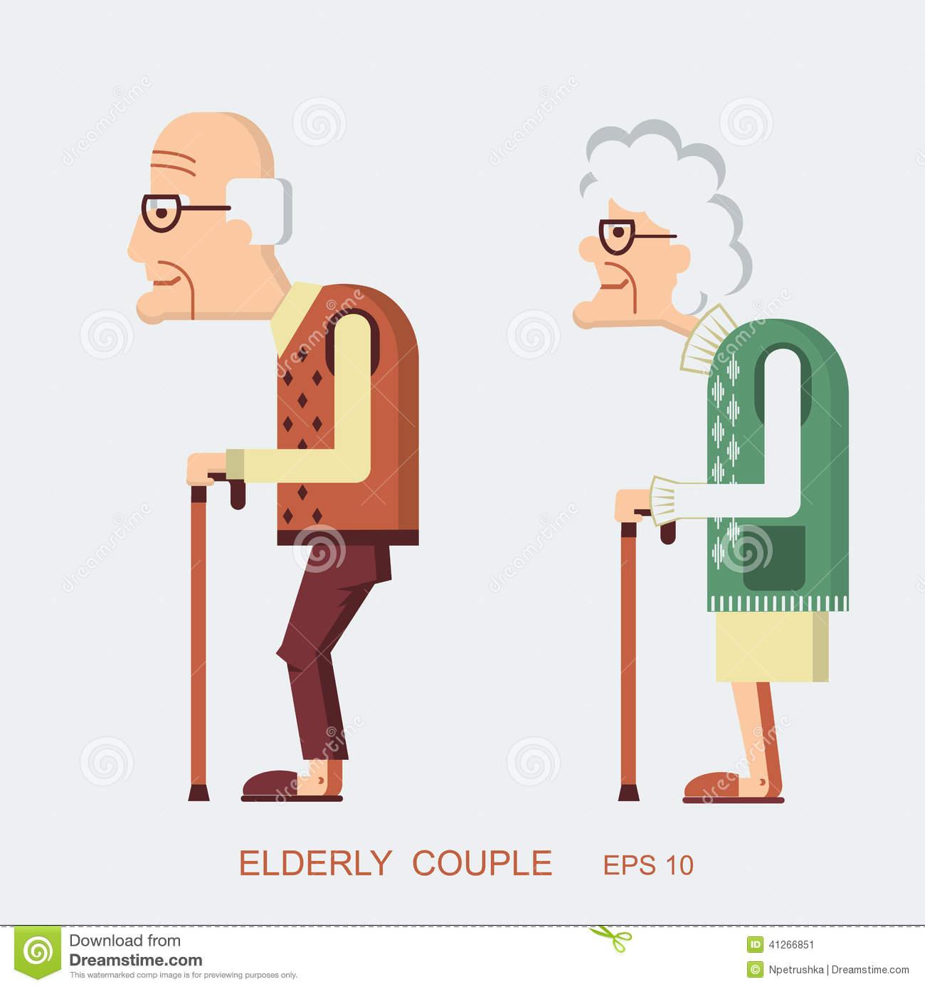 Vector People Elderly