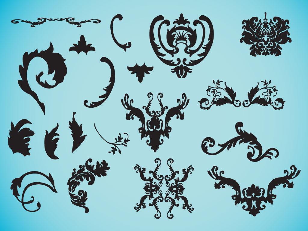 18 Free Decorative Vectors Images - Free Vector Ornament ...