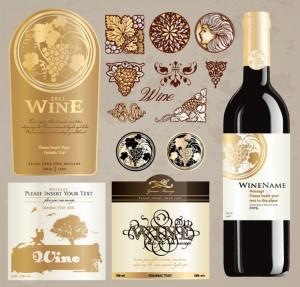 Vintage Wine Bottle Labels Templates Free