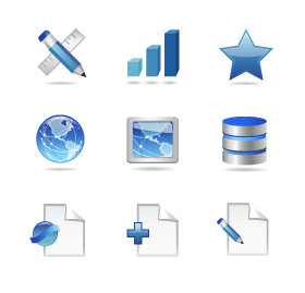 Web Design Services Icons
